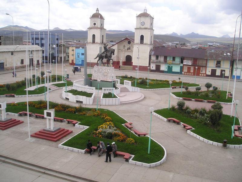 Junin Plaza Armas y lugares turisticos para conocer