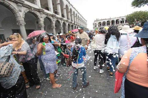 celebracion de los carnavales en arequipa