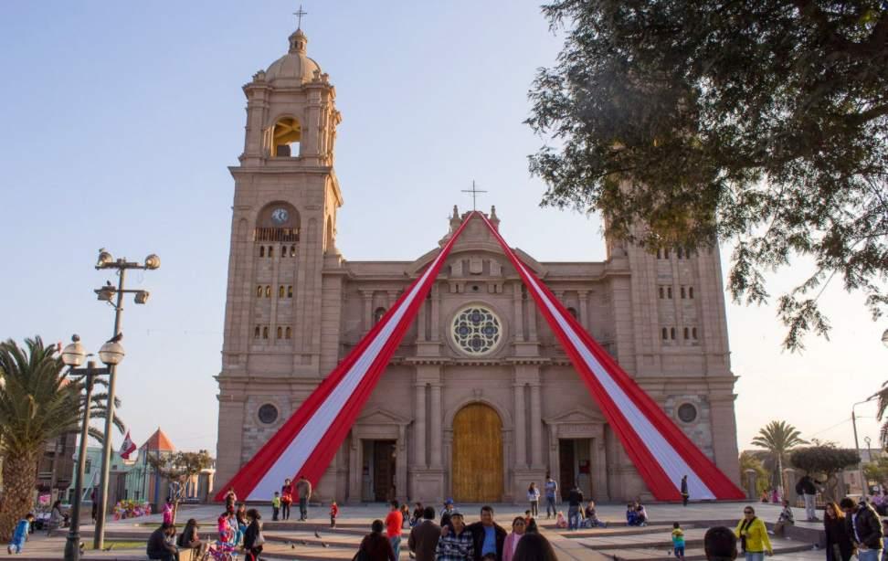 catedral de la ciudad de tacna, y sus lugares turisticos