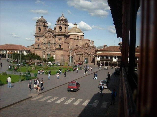 catedral del cusco en marzo