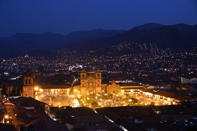 ciudad cusco noche