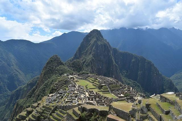 montaña machu picchu cusco turismo