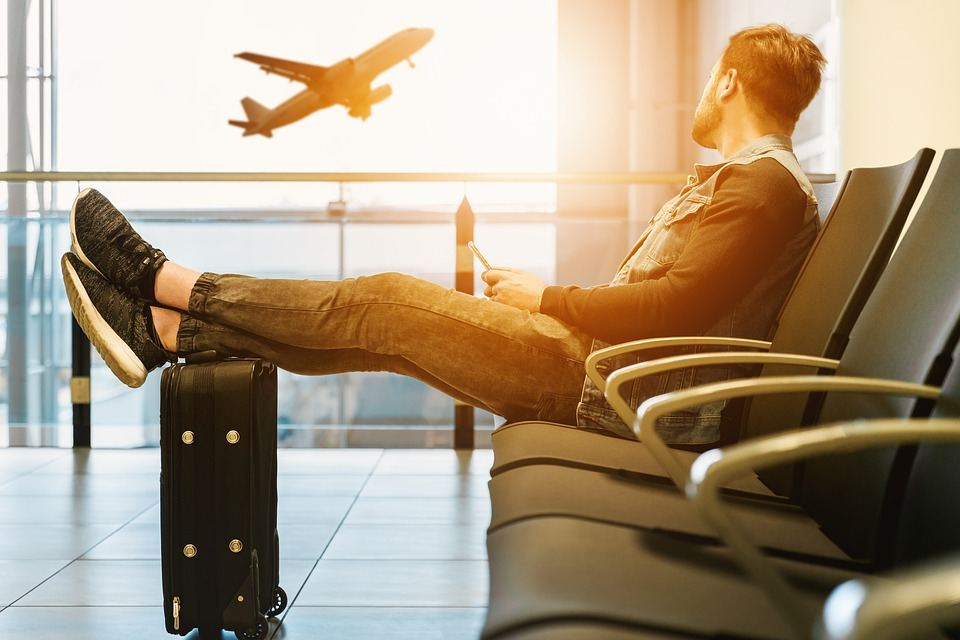 que se siente viajar en avion