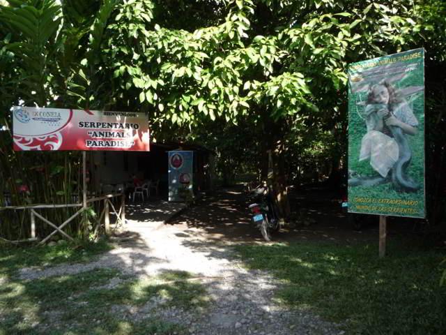 Parque Animal Paradise tingo maria